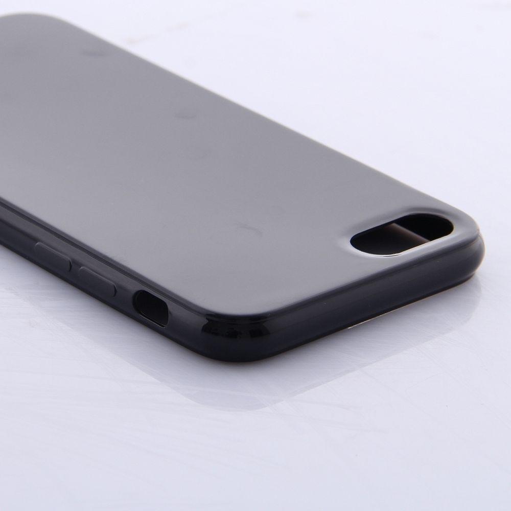 Ovitek TPU Black za Apple iPhone 8