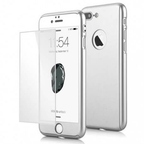 360° (Silver) za Apple iPhone 7 Plus / 8 Plus Tok