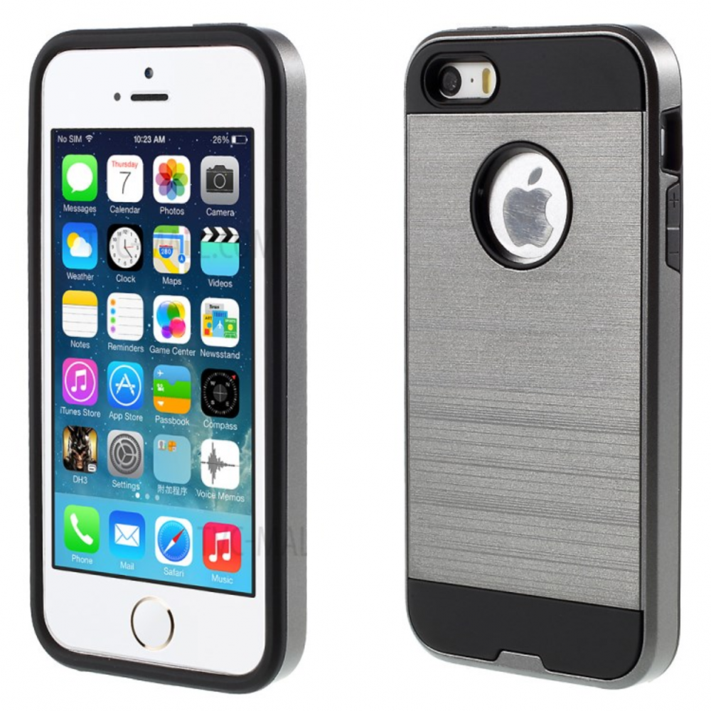 iPhone 5 hard cover (grey) tok