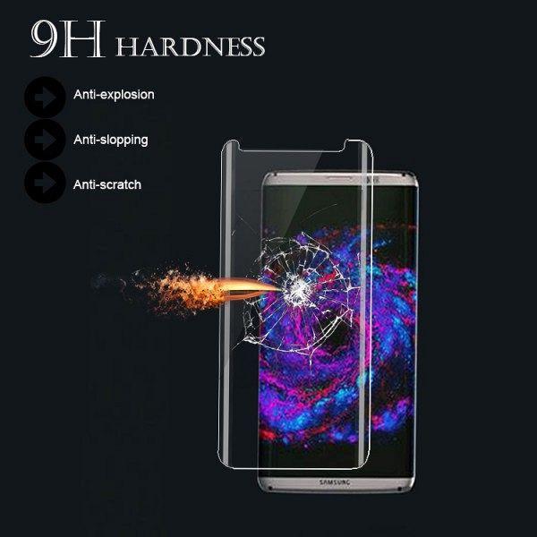 Temperirano zaštitno staklo Nuglas za Samsung Galaxy S8 (3D)