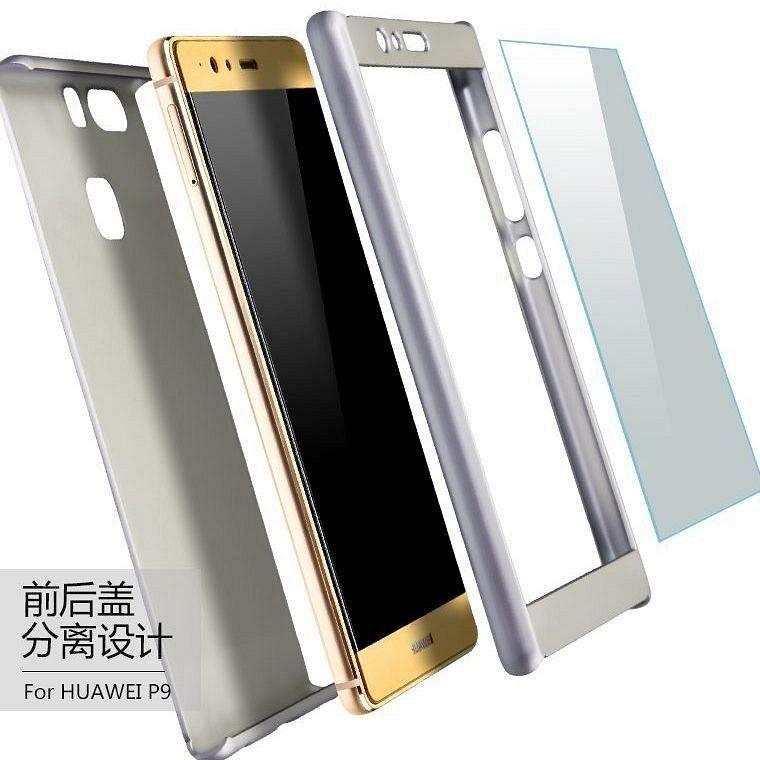 Ovitek 360° (silver) + zaščitno steklo za Huawei view 20