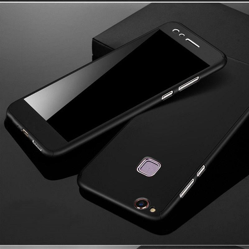 Maska 360° (crna) za Huawei P9 Lite