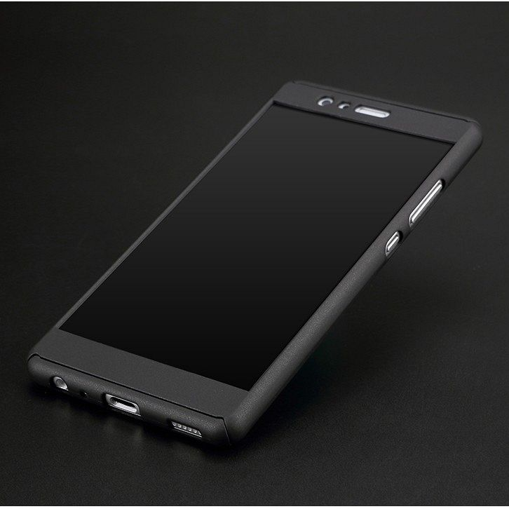 Ovitek 360° (črn) za Huawei P9 Lite