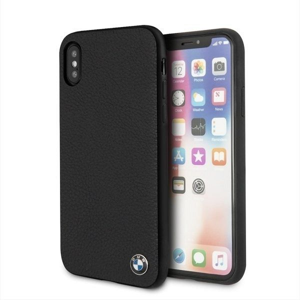 Originalna maska BMW (Signature Grained Leather Collection) za iPhone X/XS