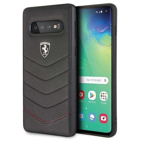Originalna maska Ferrari (Heritage Quilted Collection) za Samsung Galaxy S10