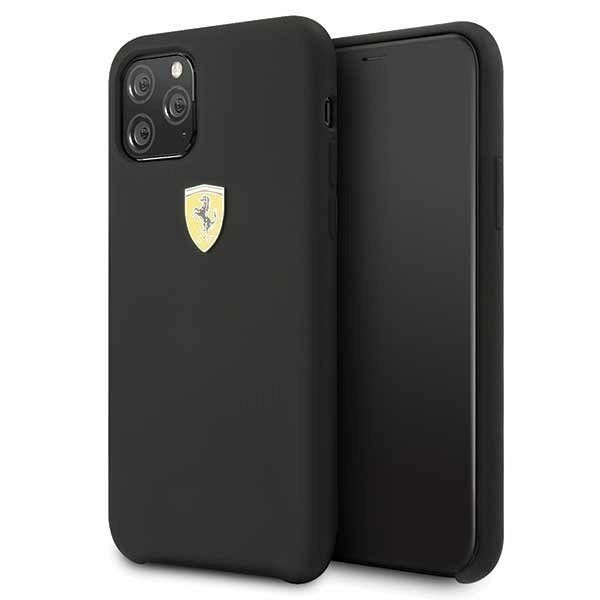 Originalna maska Ferrari (Black) za iPhone 11 Pro