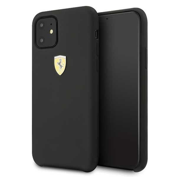 Originalna maska Ferrari (Black) za iPhone 11
