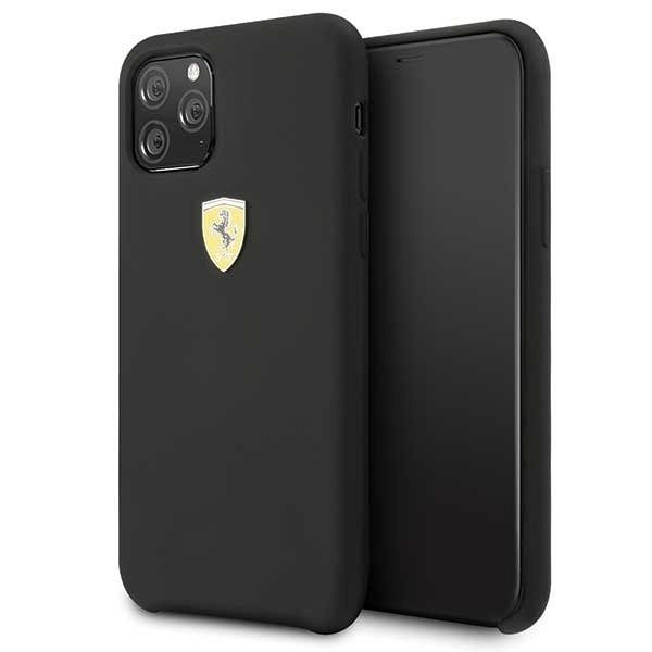 Originalna maska Ferrari (Black) za iPhone 11 Pro Max