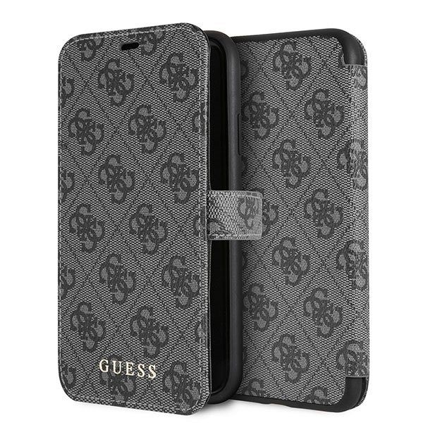Originalna preklopna maska Guess (grey) za iPhone XR