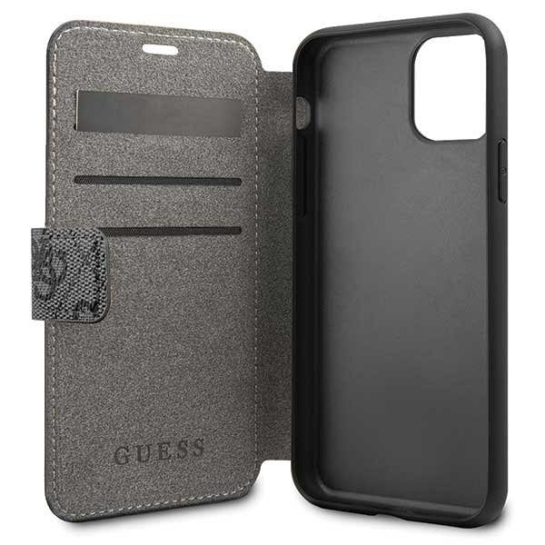 Originalen preklopni ovitek Guess (grey) za iPhone 11 Pro