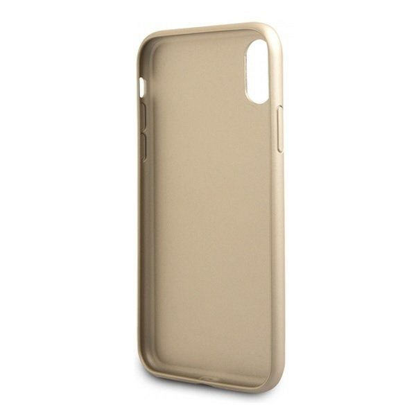 Originalen ovitek Guess (Gold) za iPhone XR