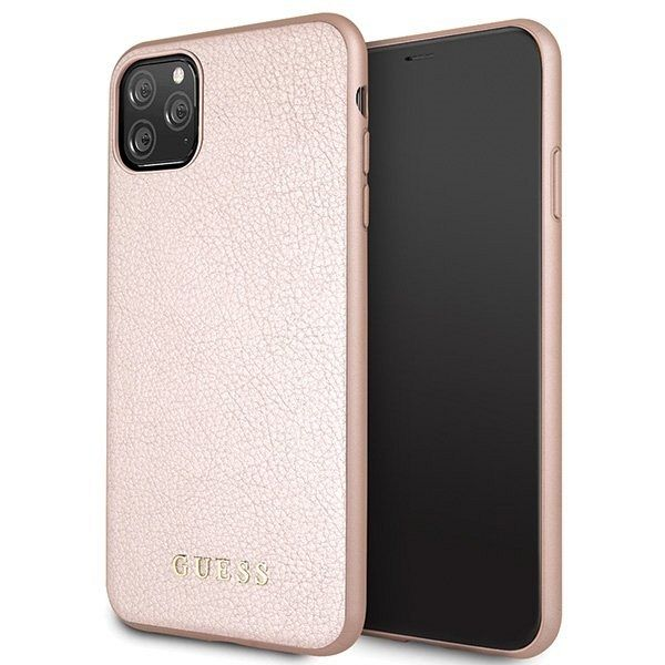 iPhone 11 Pro Max  Guess (Rose gold) tok