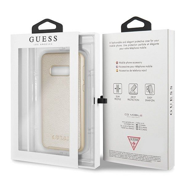 Originalen ovitek Guess (Gold) za Samsung Galaxy S10e