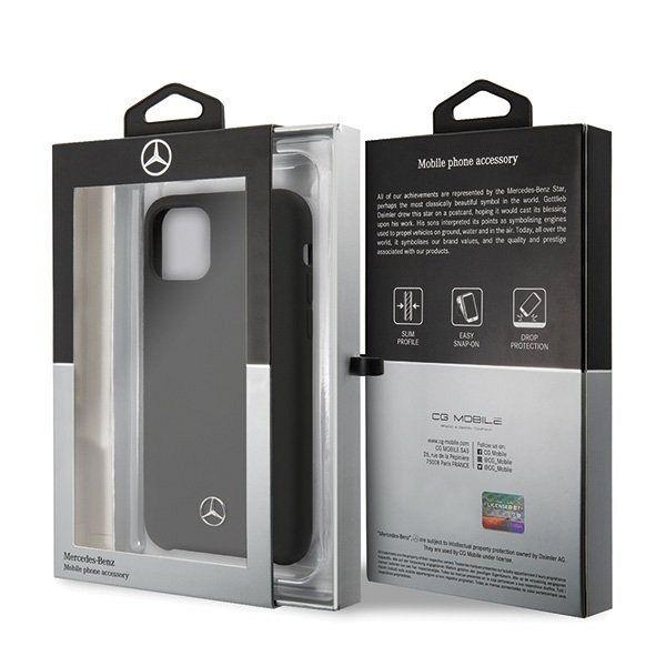 Originalna maska Mercedes (Silicone Line Collection) za iPhone 11 Pro
