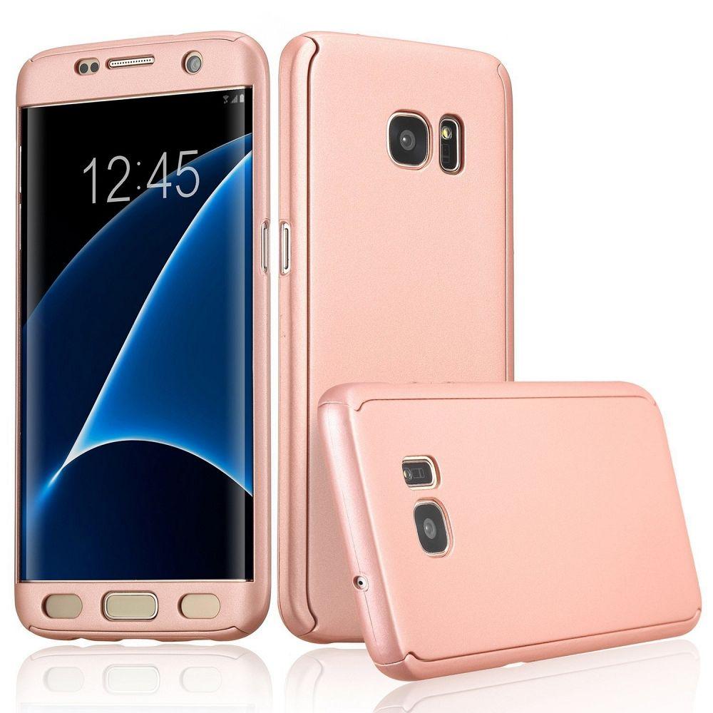 Ovitek 360° (roza) za Samsung Galaxy S7