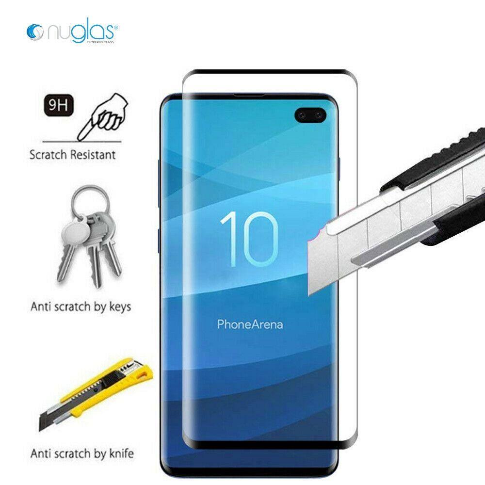 Galaxy S9 Plus 3D Nuglas edzett üveg