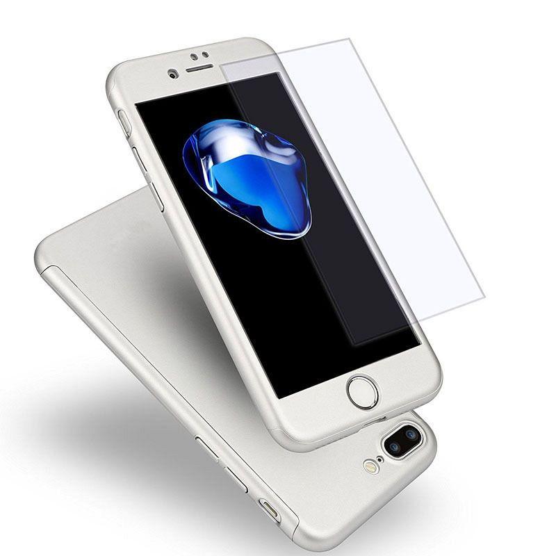 Maska 360° (srebrna) za Apple iPhone 6/6s