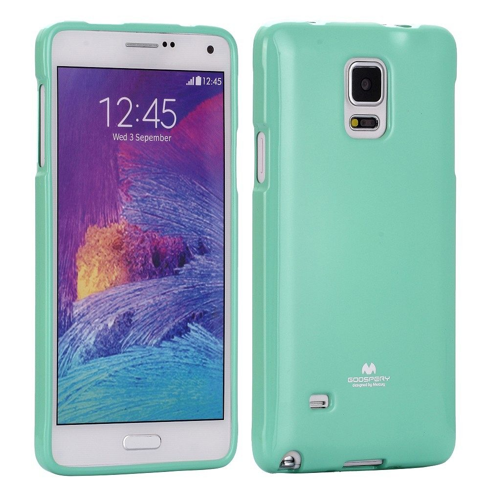 Ovitek TPU (turkizen) za Samsung Galaxy Note 4