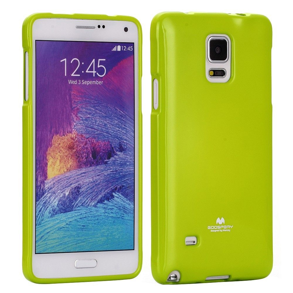 Ovitek TPU (zelen) za Samsung Galaxy Note 4