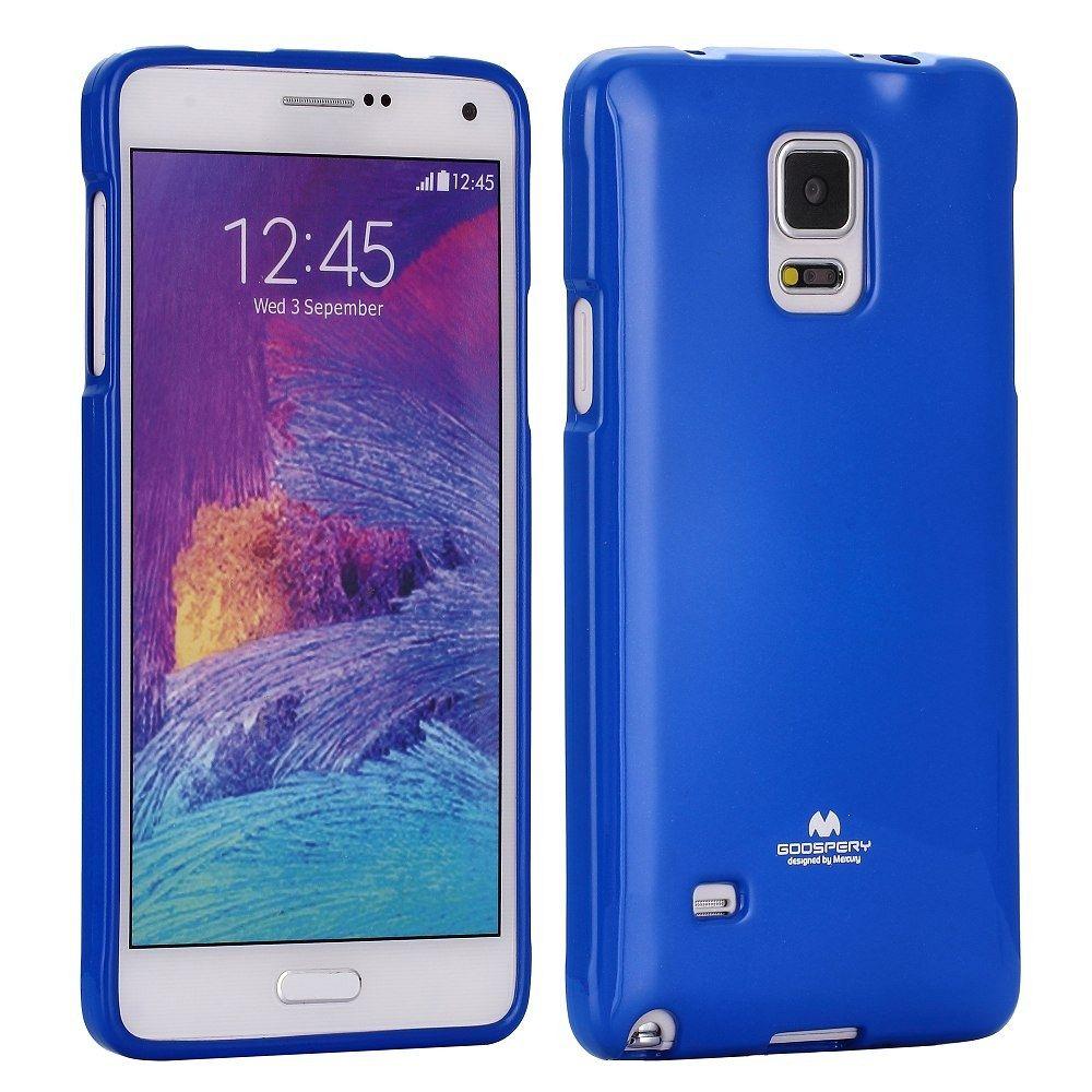 Ovitek TPU (temno moder) za Samsung Galaxy Note 4
