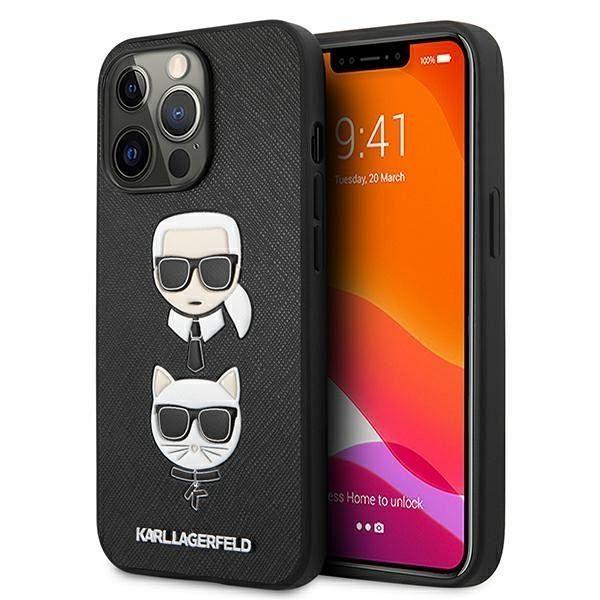 iPhone 13 Pro / 13  Karl Lagerfeld  (black)  tok