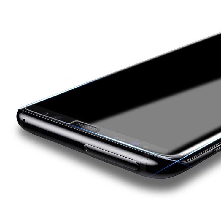 Premium kaljeno zaščitno steklo (UV svetloba) za Samsung Galaxy S8 Plus