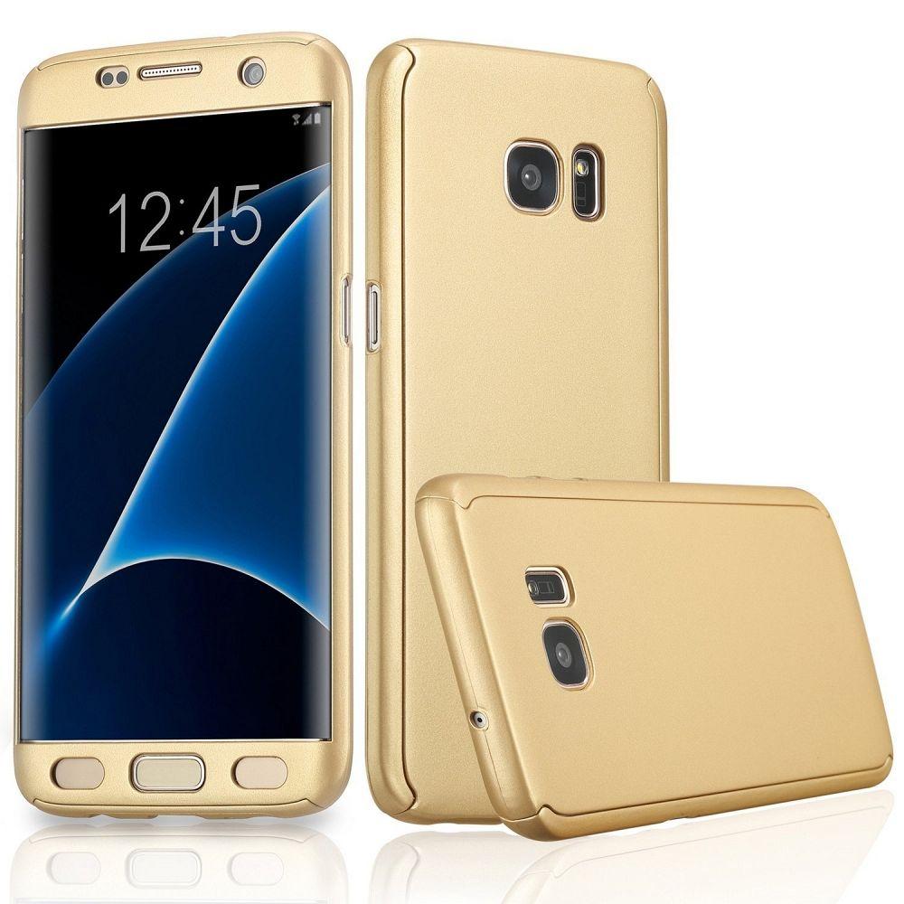 Ovitek 360° (zlat) za Samsung Galaxy S7