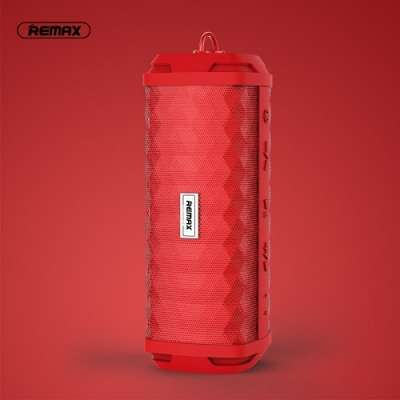 Remax M12 vodoodporen zvočnik (Rdeč) Bluetooth