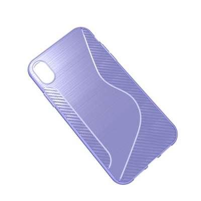 Ovitek S-line (vijoličen) za iPhone XR