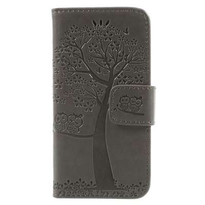 Preklopni ovitek Tree (Siv) za Iphone 5/5S/SE