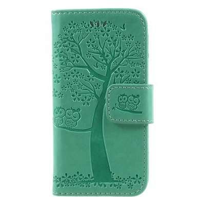 Preklopni ovitek Tree (Zelena) za Iphone 5/5S/SE