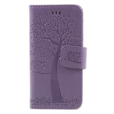 Preklopni ovitek Tree (Vijoličen) za Iphone 5/5S/SE