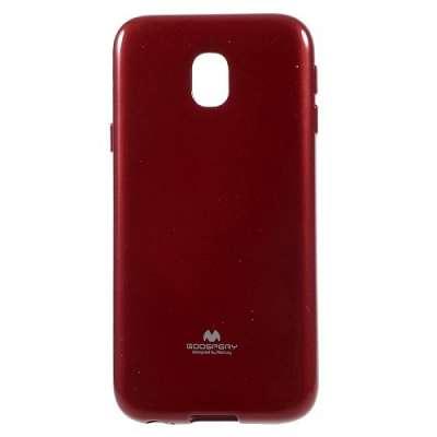 Ovitek TPU Goospery (Temno rdeč) za Samsung Galaxy J3 2017