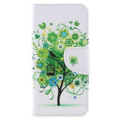 Preklopni ovitek (Green Tree) za Huawei Mate 10 Pro