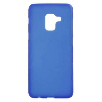 Ovitek TPU (Moder) za Galaxy A8 2018