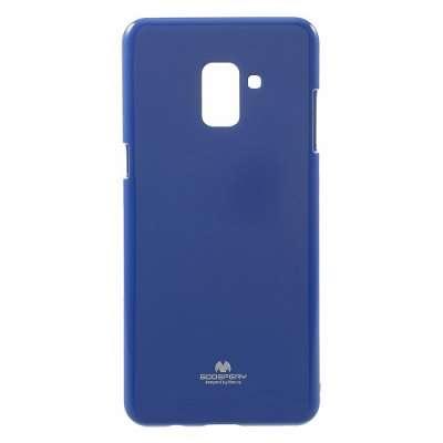Ovitek TPU Goospery (moder) za Samsung Galaxy A8 2018