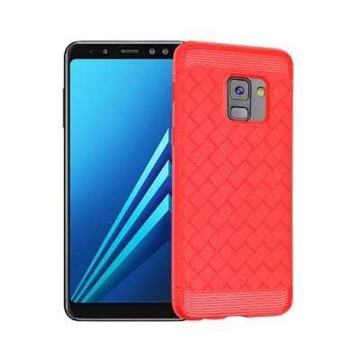 Ovitek I-ZORE (rdeč) za Samsung Galaxy A8 2018