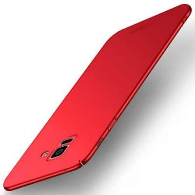 Ovitek MOFI (rdeč) za Samsung Galaxy A8 2018