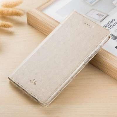 Preklopni ovitek VILI (gold) za Samsung Galaxy A6 Plus