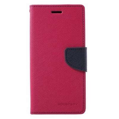 Preklopni ovitek Goospery (roza) za Samsung Galaxy J5 2016