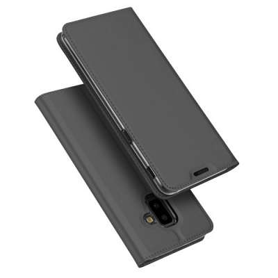 Preklopni ovitek DUX DUCIS (dark grey) za Samsung Galaxy J6 Plus