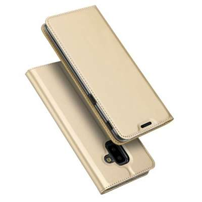 Preklopni ovitek DUX DUCIS (Gold) za Samsung Galaxy J6 Plus