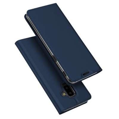 Preklopni ovitek DUX DUCIS (Blue) za Samsung Galaxy J6+