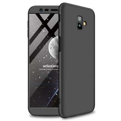 Ovitek 360 (Črn) za Galaxy J6 2018 Plus