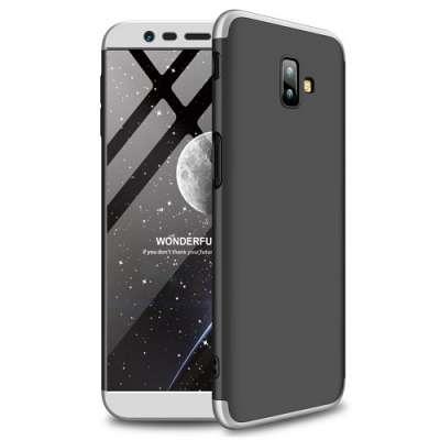 Ovitek 360 (Siv) za Galaxy J6 2018 Plus