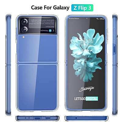 Ovitek hard PC (transparent) za Samsung Galaxy Z Flip 3