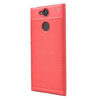 Ovitek TPU LENUO (rdeč) za Sony Xperia XA2
