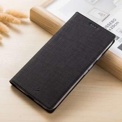 Preklopni ovitek VIli (Črn) za Sony XA2