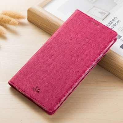 Preklopni ovitek Vili (Rdeč) za Sony XA2