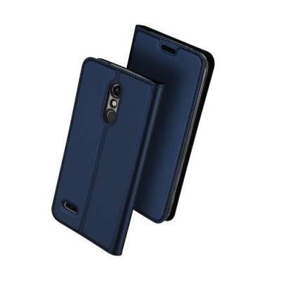 Preklopni ovitek DUX DUCIS (dark blue) za LG K10 (2018)